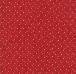 MODA FABRICS - Holly Woods -  Berry - Red