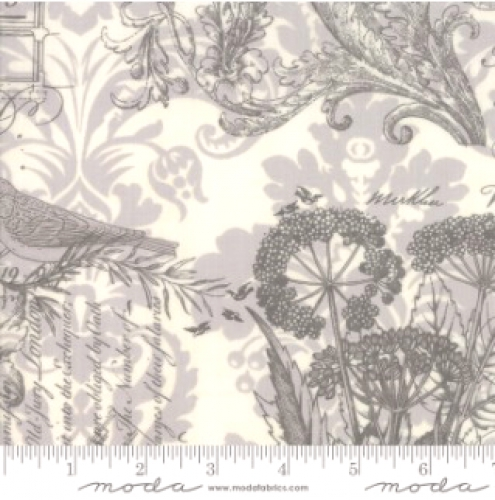 MODA FABRICS - Memoirs - Porcelain - #3417-