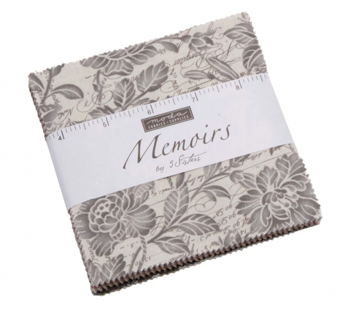 Memoirs Charm Pack by 3 Sisters Moda Precuts