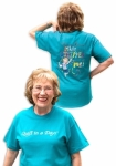 Teal Eleanor Burns Made a Stripper out of Me! T-Shirt - XXLarge