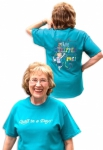 Teal Eleanor Burns Made a Stripper out of Me! T-Shirt - Small