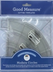 Good Measure - Modern Circles Templates 6 pcs by Modern Quilt Studio