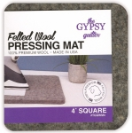 The Gypsy Quilter 4x4 Wool Pressing Mat
