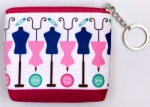 Dress Form Zipper Pouch