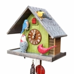 The Backyard Birds Cuckoo Clock 1-Day Movement