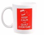 Keep Calm Mug by Quilt Happy
