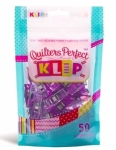 Perfect Klip - PURPLE 50 ct Klipit