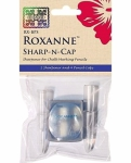 Roxanne Pencil Sharpener & 4 Pencil Caps