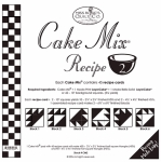 Miss Rosie's Quilt Co - Cake Mix Recipe 2