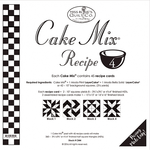 Cake Mix Recipe  By Miss Rosie S Quilt Co
