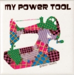 Magnet - My Power Tool by Fabric Fanatics