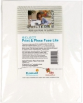 Quilters Select - Print & Piece Fuse Lite 8.5 x 11 Inch Sheets 25 pcs by Alex Anderson