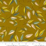 MODA FABRICS - Songbook by Fancy That Design House - Leaf Dream - Dijon