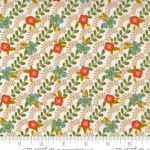 MODA FABRICS - Songbook by Fancy That Design House - Floral Stripe - Dove Wing