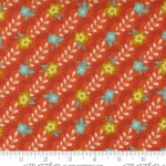 MODA FABRICS - Songbook by Fancy That Design House - Floral Stripe - Sweet Marmalade