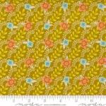 MODA FABRICS - Songbook by Fancy That Design House - Floral Stripe - Dijon