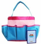 Project Tote Pink and Turquoise by Allary