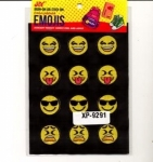 Clearance - Embroidered Emoji Sheets 2 XP09291
