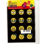 Clearance - Embroidered Emoji Sheets 3 XP09292