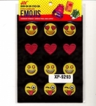 Clearance - Embroidered Emoji Sheets 4 XP09293