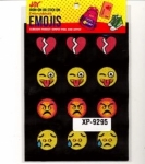 Clearance - Embroidered Emoji Sheets 6 XP09295