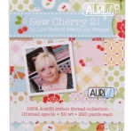 Aurifil Sew Cherry 2 Collection by Lori Holt of Bee in my Bonnet