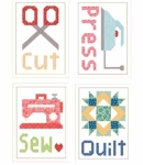 Cut Press Sew Magnets by Lori Holt
