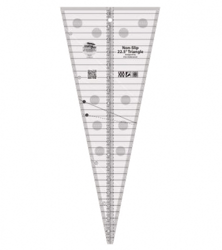 Creative Grids 22.5 Degree Triangle Ruler CGREU3