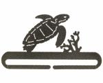 6 inch Sea Turtle Split Bottom Holder Charcoal by Ackfeld