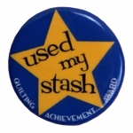 Used my Stash Sew Sassy Button