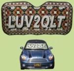LUV2QLT Auto Sun Shade