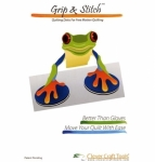 Grip & Stitch Quilting Disks 2pc by Clever Craft Tools