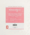 KimberBell Light Tear-Away Precuts 10x12 Embroidery Stabilizer