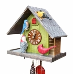 The Backyard Birds Cuckoo Clock 8-Day Movement