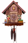 The Quilt Shop Cuckoo Clock 8 Day
