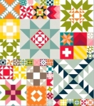 Modern Building Blocks Quilt Assembly & Finishing Directions