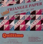 Little Triangle Paper 2 inch Finished
