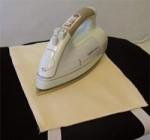 Hot Iron Rest Pad by Golden Hands Industries