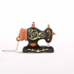 USB 2GB - Black Antique Sewing Machine by SmartNeedle