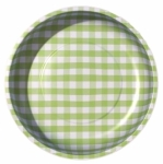 Sew Together Green Gingham Magnetic Pin Bowl