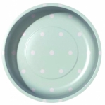 Sew Together Polka Dots Mint Magnetic Pin Bowl