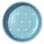 Sew Together Polka Dots Aqua Magnetic Pin Bowl