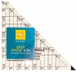 Easy Angle Triangle Ruler 4.5 inches