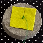 Wool Drizzle Pad by Sue Spargo Folk-Art Quilts