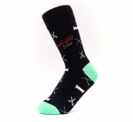 Sock - Notions Black by The Featherweight Shop