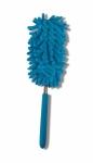 Microfiber Duster Fuzzy Stick - Blue