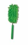 Microfiber Duster Fuzzy Stick - Green