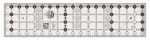 Creative Grids Quilt Ruler 4-1/2in x 18-1/2in CGR418