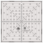 Creative Grids 12-1/2in Square It Up or Fussy Cut Square CGRSQ12
