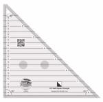 Creative Grids 45 Degree Half-Square Triangle 8-1/2in CGRT45